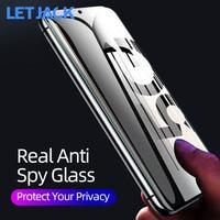 Vollständige Abdeckung Anti-spy Screen Protector für Samsung Galaxy A31 A41 M11 A11 A21S A51 A71 A10 A70 S10 hinweis 10 Lite Privatsphäre Glas