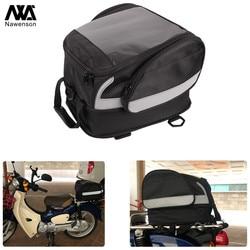 Motorcycle Tail Bag Rear Storage Pack Helmet Bag Trunk Universal for Motorbike with Luggage Rack