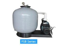 P400 modell sand filter mit schwimmen pool wasser filter motor pumpe