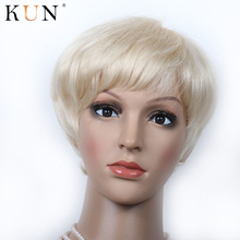 60 чистые девственные короткие человеческие волосы парики 150 Плотность 13x4 боб парик фронта шнурка бесклеевая кружевная фронтальная человеческие волосы парики предварительно сорванные