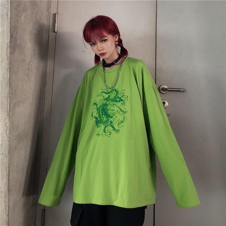 Green long sleeves