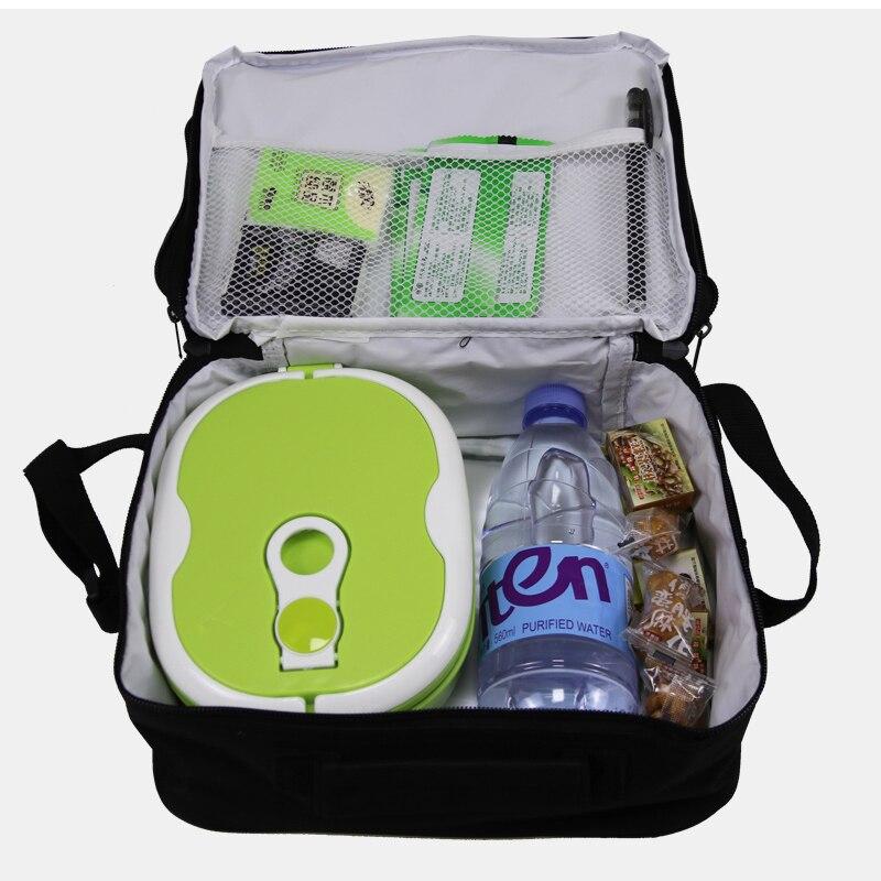 almoço para crianças saco de comida térmica