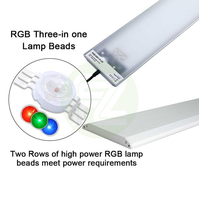 Chihiros RGB A Plus oświetlenie LED do akwarium wbudowany moduł App Aqaurium lampa ledowa RGB z 3 słabym kanałem