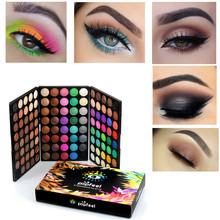 Women Pro Eye Makeup Beauty 120 Colors Matte Shimmer Eye Sha
