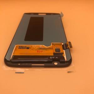Image 2 - 5.5 Originele Super Amoled Display Voor Samsung Galaxy S7 Rand G935 SM G935F G935FD Lcd scherm Touch Digitizer Met Frame