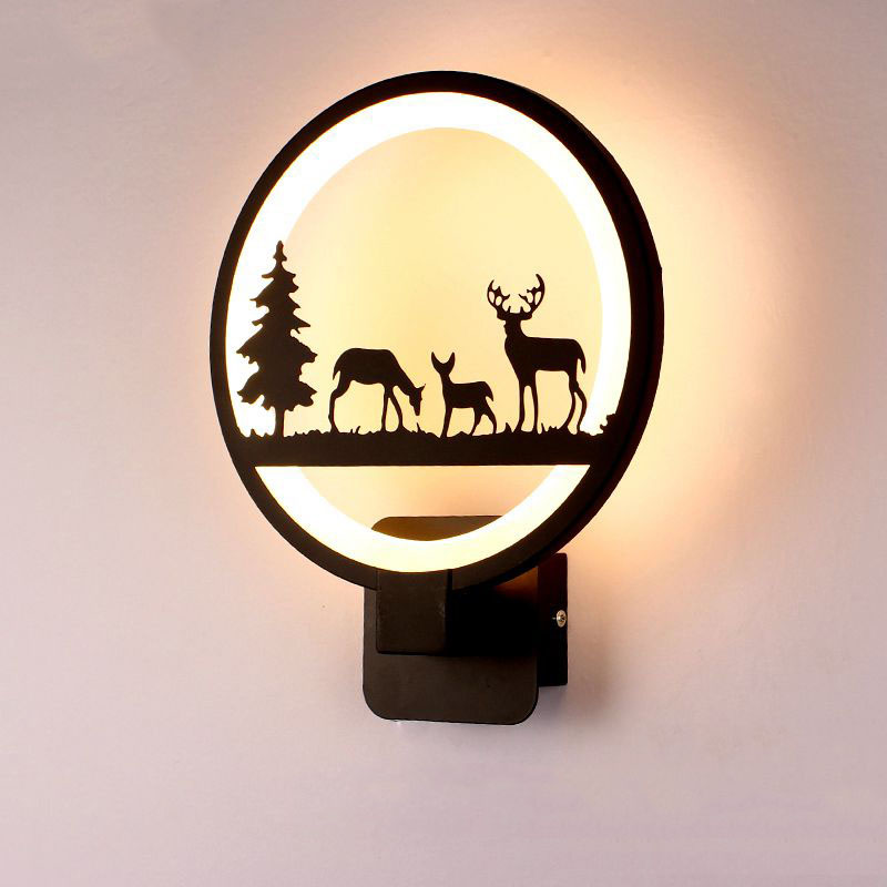 бра настенные 15W LED Wall Lamp Modern Creative Bedroom  Wall Light Indoor Living Room Dining Room Corridor Lighting Decoration