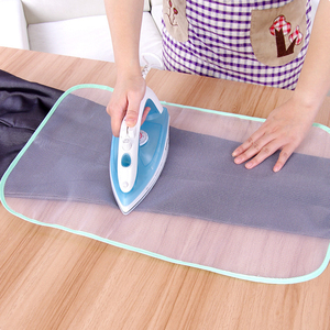 1 Pcs Household Ironing Cloth Heat Resistant Ironing Board Press Iron Mesh Insulation Pad Protective Cover Home Accessories