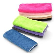 2018 High quality Double-sided Microfiber Dish towels Thickening Cloth Dish Nonstick Oil Absorbent Kitchen Towels Dropshipping(China)