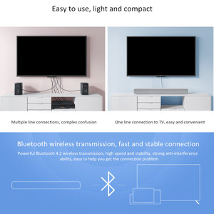 Image 3 - Xiaomi TV Sound Barลำโพงบลูทูธซับวูฟเฟอร์ไร้สาย3.5มม.AUX Audio SPDIFเล่นเพลงสำหรับPC Theaterทีวีเกมภาพยนตร์