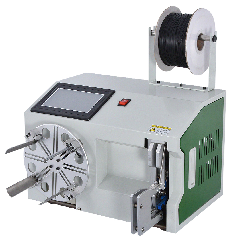 Automatic Winding Wire Binding Machine High quality Touch Screen Type Wire Tie Machine Cable Winding Machine 15 45mm 110V/220V|Power Tool Sets| |  - title=