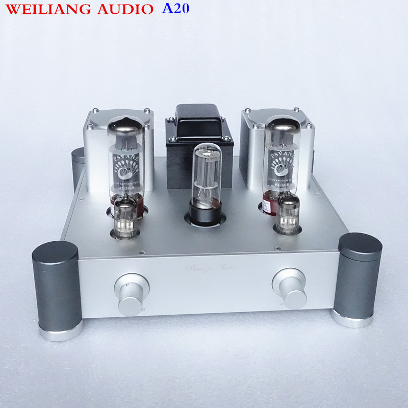 WEILIANG AUDIO A20 EL34 <font><b>tube</b></font> power <font><b>amplifier</b></font> class A power <font><b>amplifier</b></font> <font><b>10W</b></font>*2 image