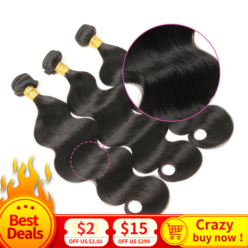 <font><b>10A</b></font> Peruvian Body Wave <font><b>Hair</b></font> Bundles 100% Human <font><b>Hair</b></font> Weave Natural Color MIHAIR Remy <font><b>Hair</b></font> Extension 8-30 Inch 3/4pcs image