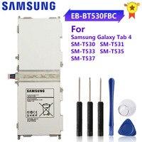 SAMSUNG batería Original EB-BT530FBU EB-BT530FBC EB-BT530FBE para Samsung GALAXY Tab 4 Tab 4 SM-T530 T531 T533 T535 T537 6800mAh