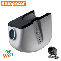 Kampacar Dashcam AD01 D for Audi A1 A3 A4 b7 b8 prestige A5 A6 c6 4f A7 A8 Q3 Q5 Q7 TT mk2 grey roof 2006 To 2014 Y Wifi Car Dvr