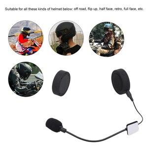 Image 4 - docooler Motorcycle BT Headphone Moto Helmet Headset Wireless Handsfree Motorcycle Helmet Headphones for Phones/MP3/ Speaker