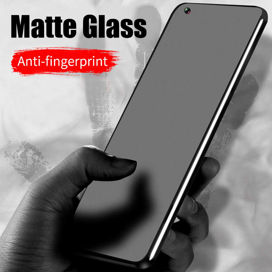 No fingerprint Matte Glass For Huawei Honor View 20 Pro 8X Screen Protector Frosted Tempered Glass P30 Lite P Smart 2019 P20 Pro