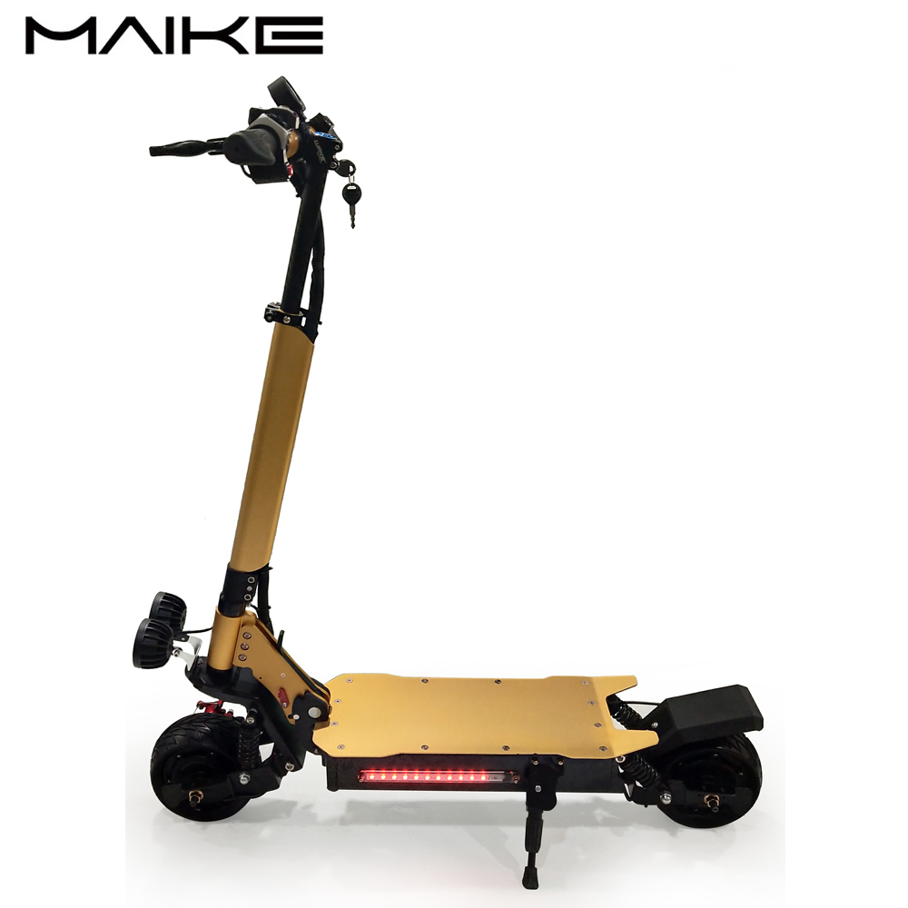 KK10 Maike KK10 <font><b>1000w</b></font> Street Fat Tire <font><b>Electric</b></font> Mobility Foldable <font><b>Scooter</b></font> image