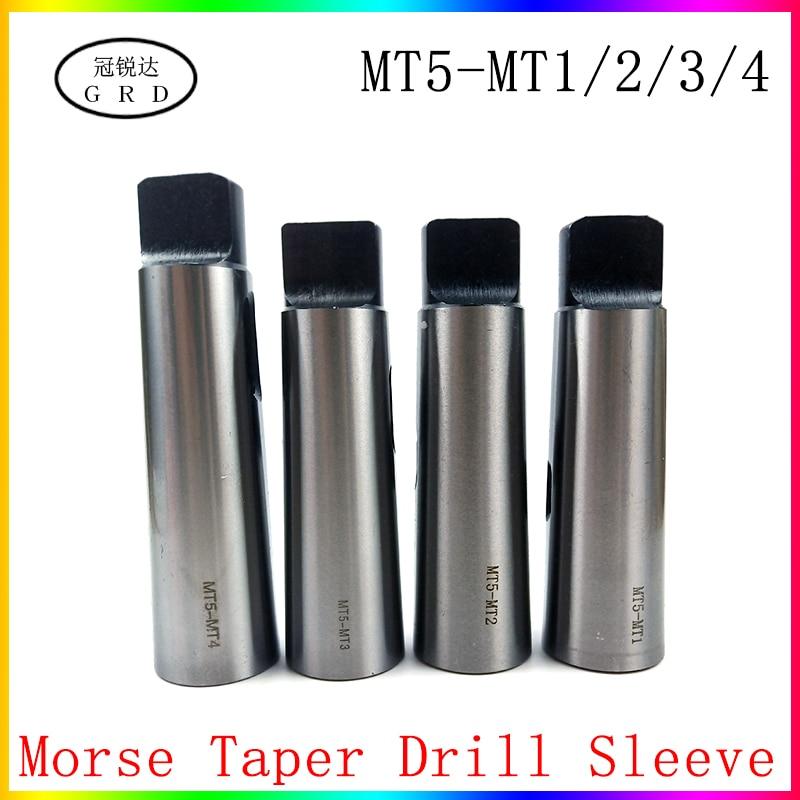 MT1//MT2//MT3//MT4//MT5 45# Steel Morse Taper Reducer Sleeve For Lathe Milling Drill