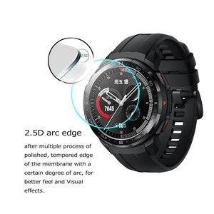 Image 4 - Protecteur décran en verre trempé 2.5D pour Huawei Honor montre magique 2 GT 2 GT2 42mm 46mm GS Pro Smartwatch Film de protection décran