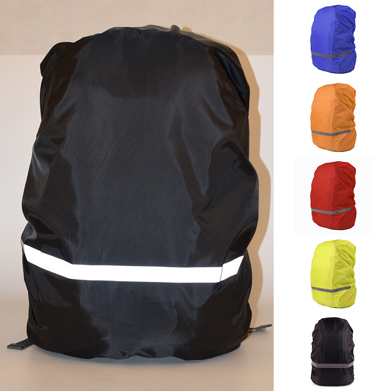 Portable Waterproof Sports Backpack Rain Cover Reflective Rainproof Cover For Travel Dust Raincover Military Bag Protective Case