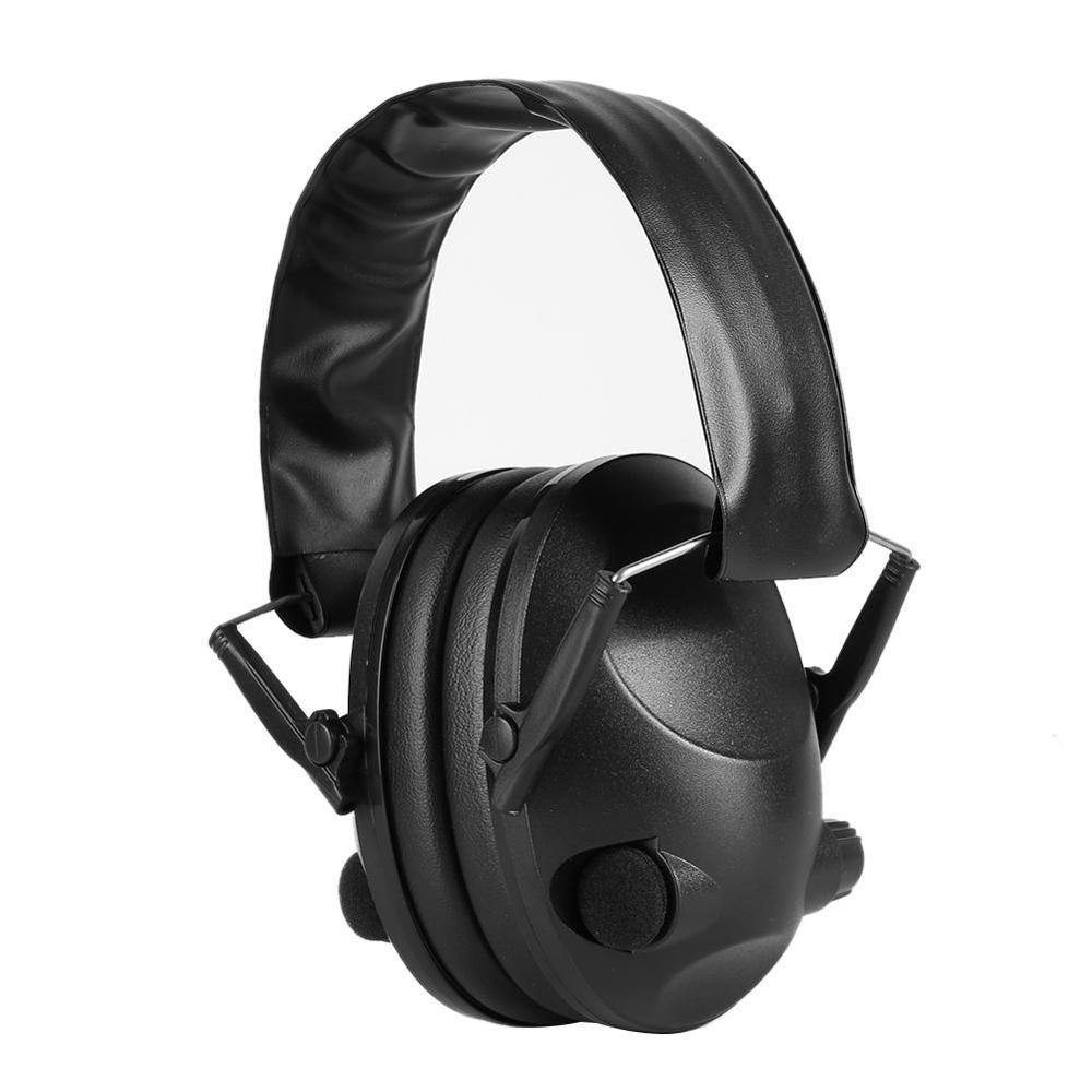 Тактические наушники TAC 6S с защитой от шума, гарнитура для тактической стрельбы, мягкие электронные наушники с подкладкой для спорта, охоты, занятий спортом на открытом воздухе-3