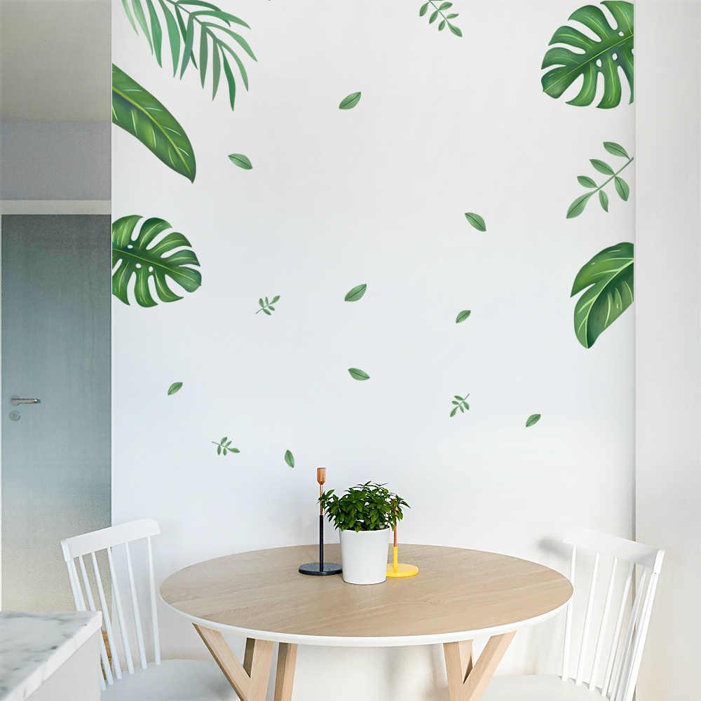 Chambre plante porte autocollants autocollant mural pour enfants chambre décorations murales salon autocollant bébé maison accessoires