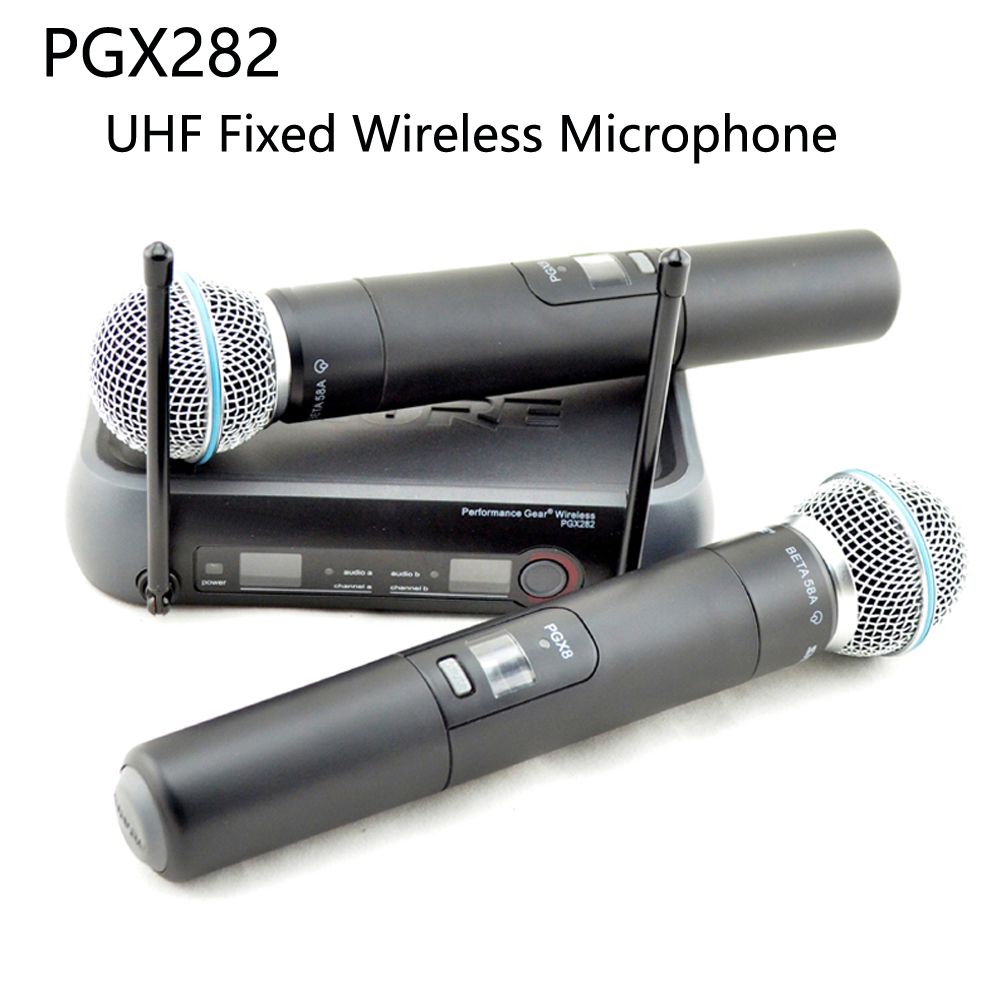 ZHURE PGX PGX282 BETA58A microphone, uhf wireless microphone system for professional singing