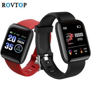 Image 1 - D13 Smart Watch Men Women Waterproof Wristband Blood Pressure Heart Rate Monitor Fitness Tracker 116Plus Sport Watch Z2