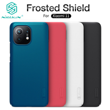 For Xiaomi Mi 11 Case Super Frosted Shield Hard Matte Cover with Salient Dot Design For Xiaomi 11 Ultra 11 Pro чехол Nillkin