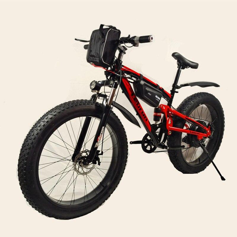 Пляжный Электрический велосипед 2000 Вт, Электрический пляжный мотоцикл с мягким хвостом 20 Ач, электронный горный велосипед, электрический г...