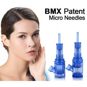 Image 4 - Venda quente 12/36/42 pinos biomaser cartuchos de tatuagem agulhas mesotherapy para o auto microneedle biomaser caneta tatuagem agulhas