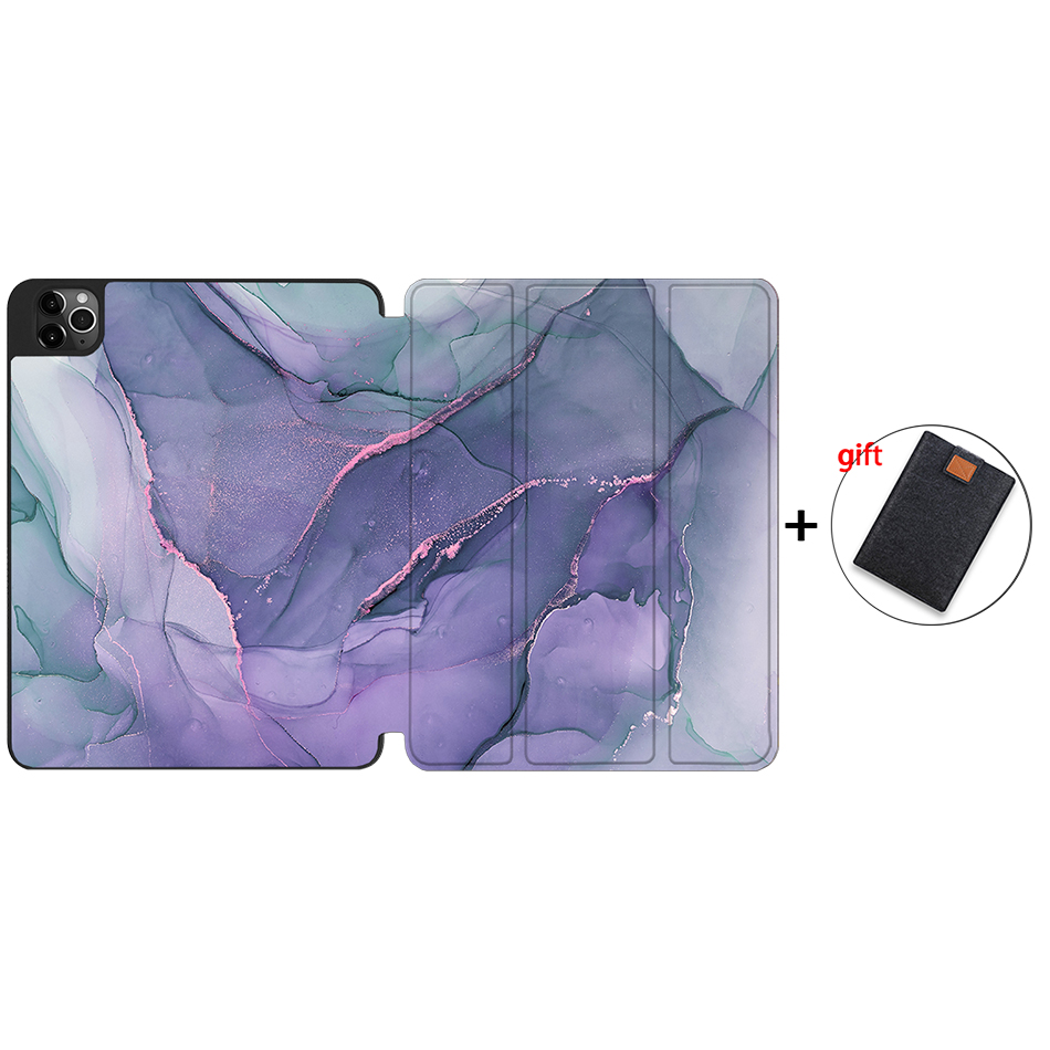 IPTPU08 Gray MTT 2020 Tablet Case For iPad Pro 12 9 4th Gen A2229 A2233 Soft TPU PU
