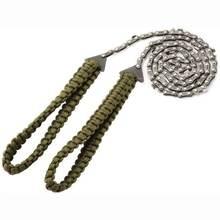Портативный аварийный чехол с плетеной ручкой для выживания