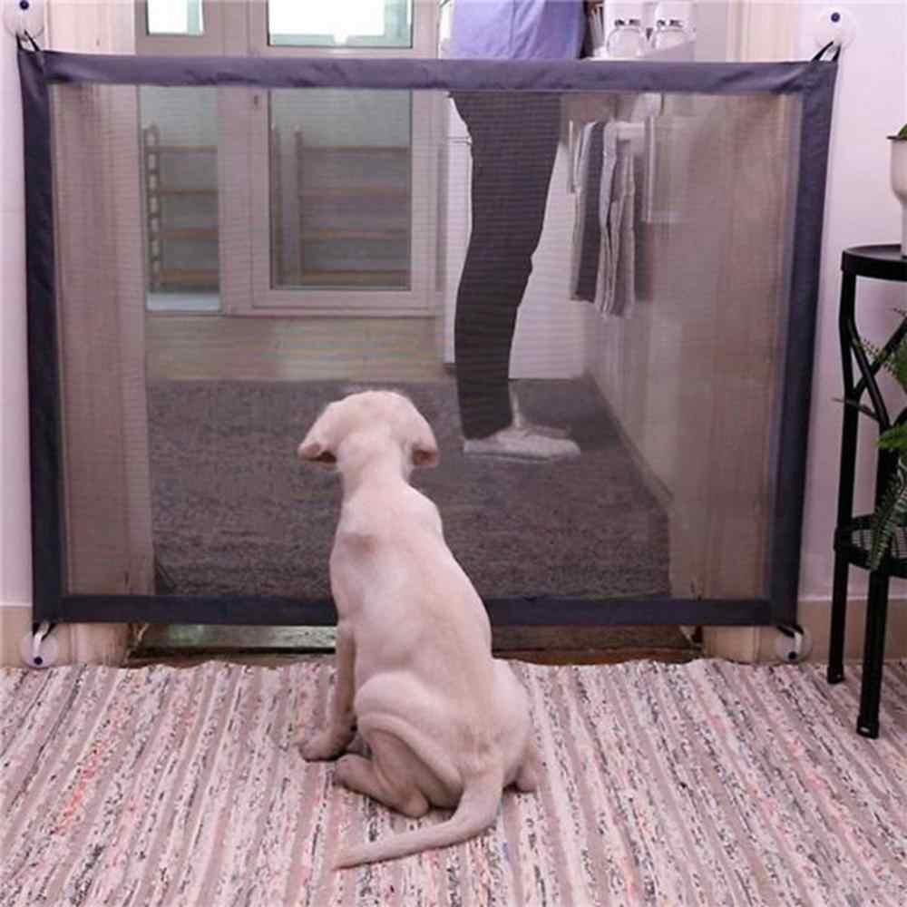 Hond Hek Gate Veilig Guard Veiligheid Behuizing Hond Hekken Hond Poort De Ingenieuze Mesh Magic Huisdier Gate Dierbenodigdheden dropshipping