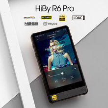 HiBy R6Pro (Lega di Alluminio) Lossless Lettore di Musica Digitale Lettore Audio Hi-Fi Bluetooth MP3 Amazon Musica Ultra HD(China)
