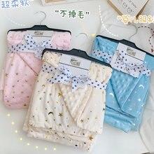 Высококачественное детское одеяло s мягкое для новорожденных