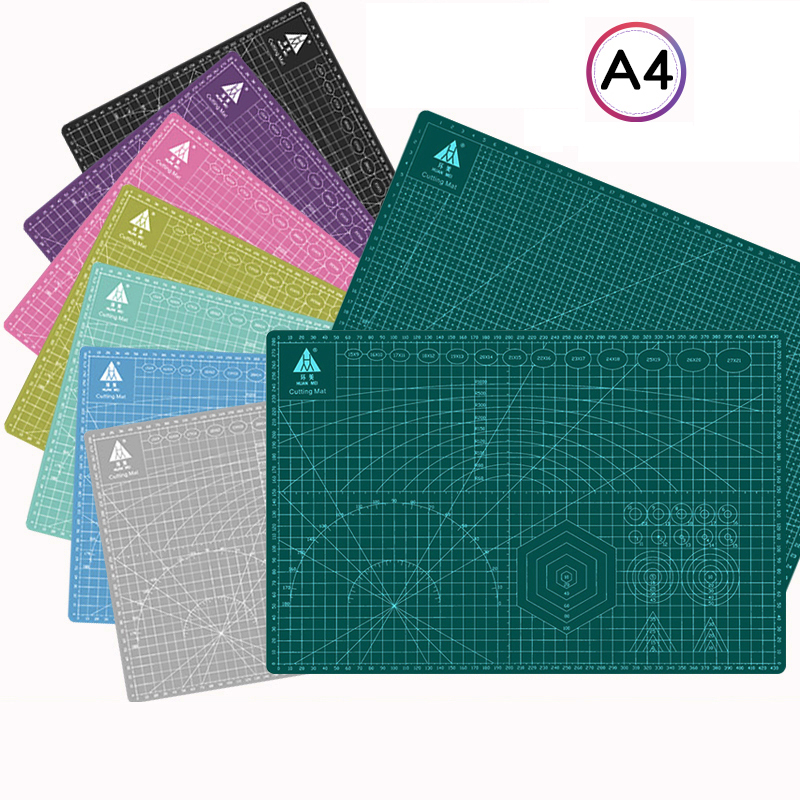 A4 Pvc Cutting Board Mat Patchwork Mat Cutting Mat Patchwork Tool Manual Diy Tool Double-sided Self-repair Engraving Version