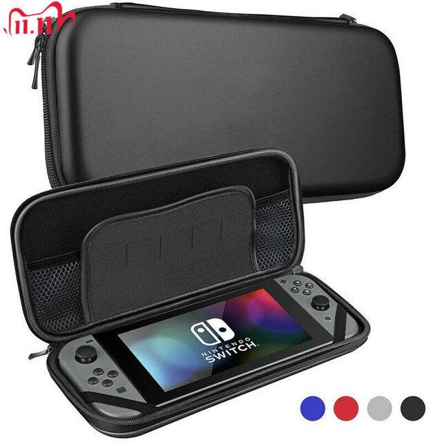 Paquete duro de compresión portátil para Nintendo Switch, funda protectora de viaje, impermeable, EVA, para consola NS Switch