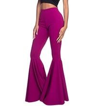 High Waist Pants Women Wide Leg Pants Elegant Office Ladies Leggings Flare Pants Causal Harajuku Pants Gothic Plus Size Pants