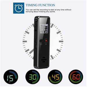 Image 5 - V90 8 GB/16 GB/32 GB مسجل صوتي USB المهنية 96 ساعة الإملاء مسجل صوتي صوتي رقمي مع WAV ، مشغل MP3