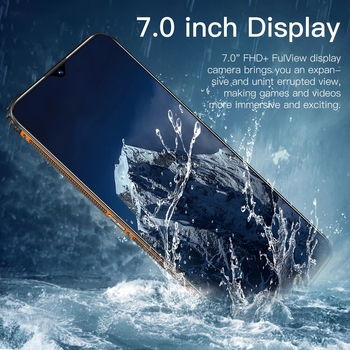 "RUGGED SMARTPHONE N1 7.0"" SHOCKPROOF ANDRIOD11 WATERPROOF QUALCOMM 888 16G 512GB DUAL SIM 6800MAH MULTI-LANGUAGE 4"