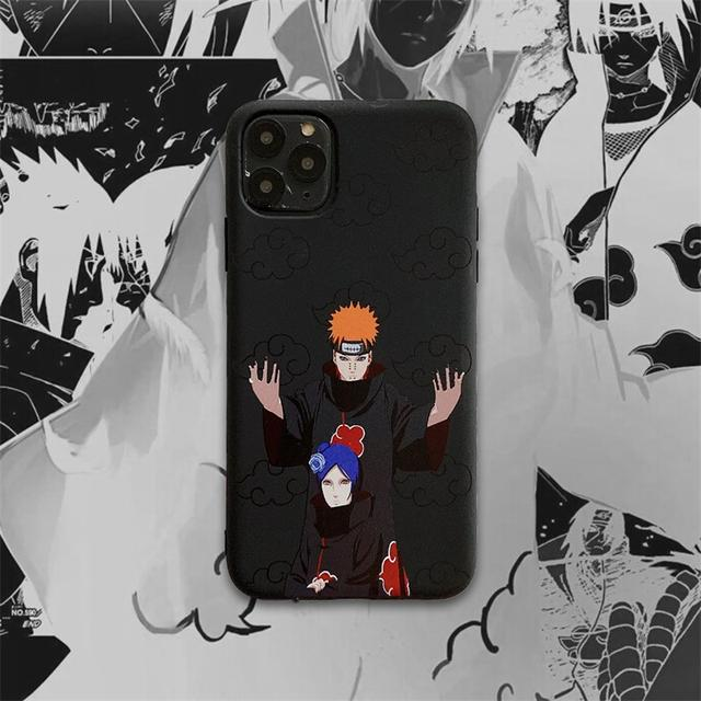 3D NARUTO THEMED IPHONE CASE