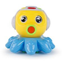 Kids Baby Toys Electric Story Read Interactive Swing Octopus Animal Learning Teaching Machine Educational Toys Gifts Appease Toy(China)
