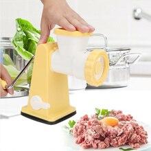 Многофункциональный ручной Мясорубка ручной наполнитель колбаса соус машина QP2