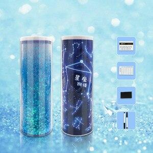 Image 4 - 2020 Nieuwe Creatieve Whiteboard Kawaii Etui Met Solar Rekenmachine Multifunctionele Pencilcase Pen Box Voor Jongen Meisjes