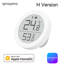 2021 Qingping Bluetooth Thermometer Hygrometer H Version Temperature and Humidity Sensor Supports For Apple Siri and HomeKit