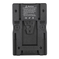 F2-BP V Mount Battery Adapter Plate for Sony NP-F970 F750 F550 Battery Converting to V Type Battery for Canon 5D2 5D3 DSLRs Camc