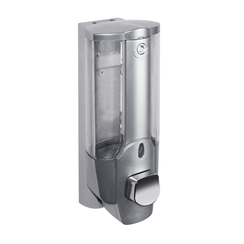 350ml Liquid Soap Dispenser Wall Sanitizer Shampoo Dispensers Hand For Sink Bathroom Washroom Hotel Shower Bath With A Lock