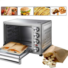 4PCS Toaster Bags Grilled Cheese Sandwiches Doughnut Toaster Bags Baking Accessories