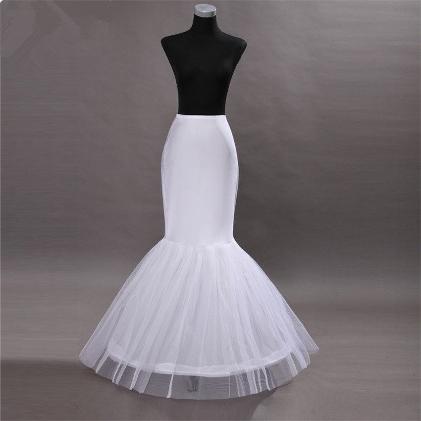 NUOXIFANG Hot Sale Cheap Mermaid Wedding Petticoat Bridal Accessories Underskirt Crinoline Petticoats for Wedding Dresses
